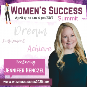 Jennifer Henczel at the Women's Success Summit 2020